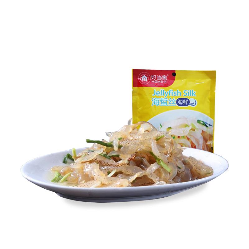 即食沙海蜇丝海鲜味 168g/袋