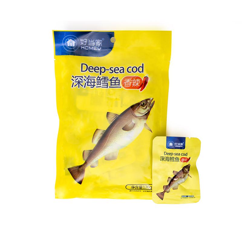 香辣深海鳕鱼 120g/袋